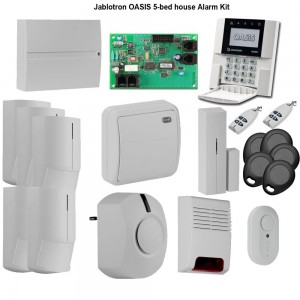wireless security alarm panel kit